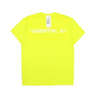 FOUR STITCHES NEON COLOR TEE