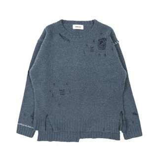 DAMAGED KNIT