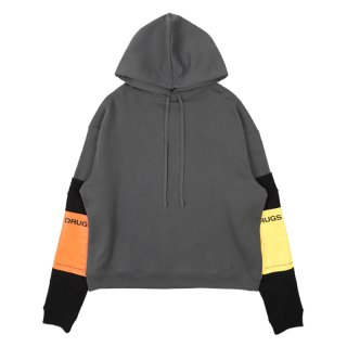 HOODIE WITH DETACHABLE SLEEVES