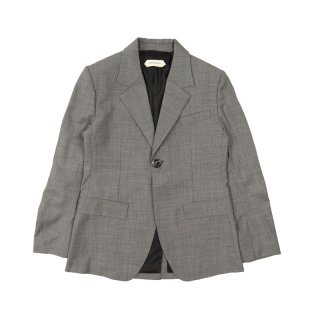 ONE SPLIT GREY SUIT JACKET