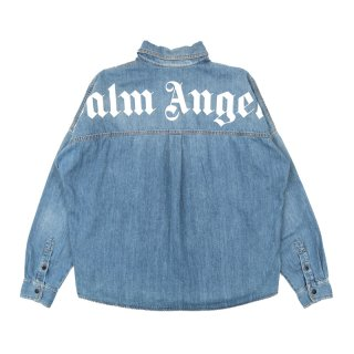 LOGO OVER DENIM SHIRT