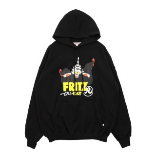 FRITZ the CAT LOVE  HOODIE