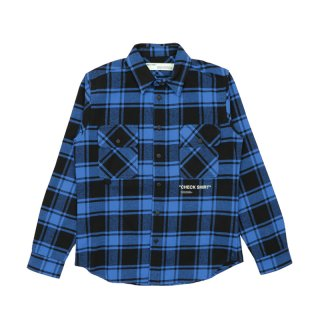 QUOTE FLANNEL SHIRT