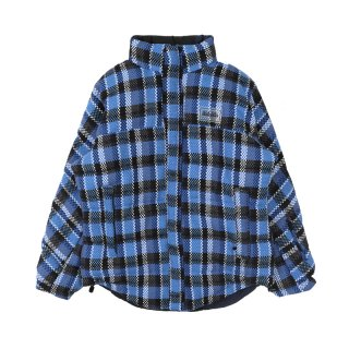 A-ACHO REVERSIBLE CHECK JACKET