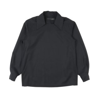 BLACK WOOL 0003 OVERSHIRT