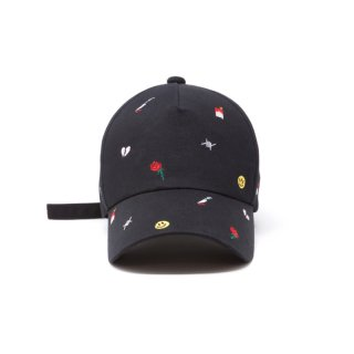 ALL OVER EMBROID CAP