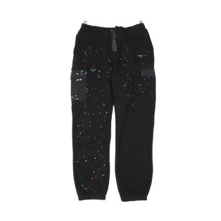 PAINT SPLATTER CARGO SWEAT PANTS