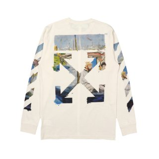DIAG COLORED ARROWS L/S TEE