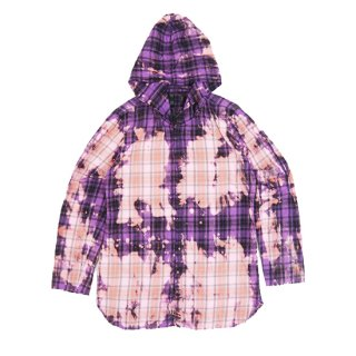 FLANNEL HOODED SHIRT