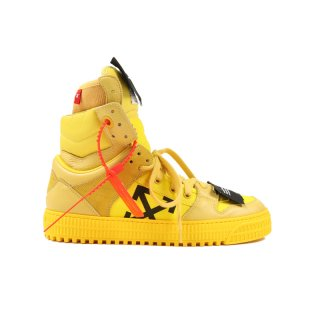 YELLOW OFF COURT SNEAKERS