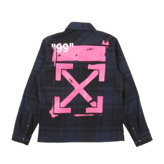 STENCIL FLANNEL SHIRT