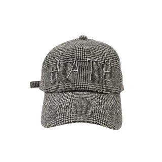 HATE GLEN CHECK CAP