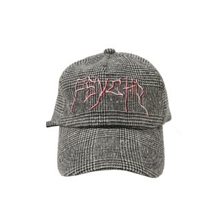 PSYCHO GLEN CHECK CAP