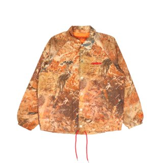 NYLON CAMO BASIC COACH JACKET