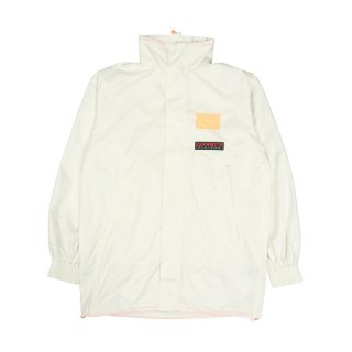 FLUORO LOGO LONG COACH JACKET