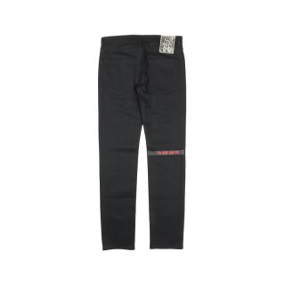 REGULAR FIT DENIM PANTS WITH TAPE & PATCH