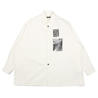 BIG FIT SHIRT WITH TWO PATCHES