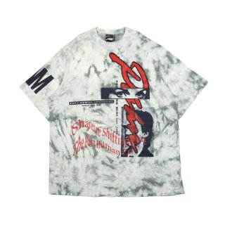TIE DYE WINDOW CLEAN OVERSIZED SS TEE