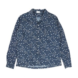 BANDANA LONG SLEEVE BLUE
