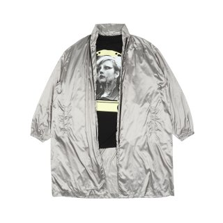REVERSIBLE NYLON RAINCOAT