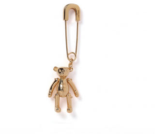TEDDY BEAR CHARM EARRING