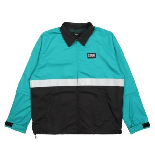 COLOR NYLON SET UP JACKET