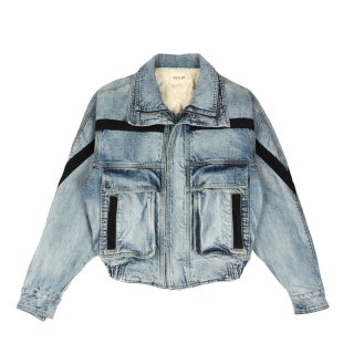 DENIM SKI JACKET