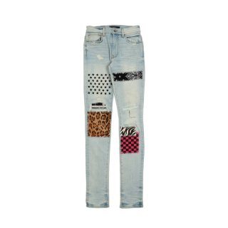 ART PATCH JEANS