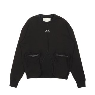 KNITTED TOP OVERLOCK CREWNECK