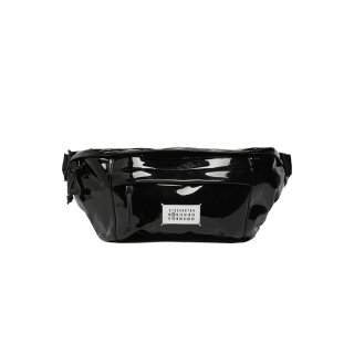 PATENT LEATHER BUM BAG