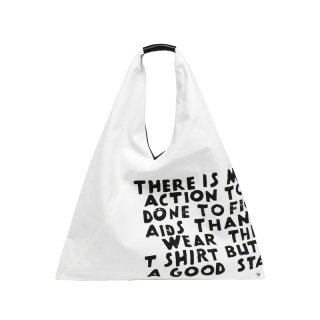 CHARITY AIDS PRINT JAPANESE BAG