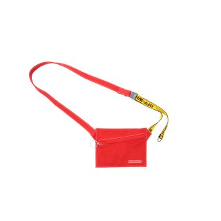 DENIIM FLAT CROSSBODY