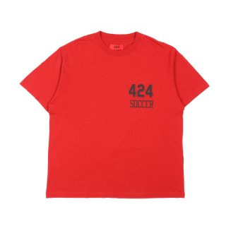 PLACED PRINT SOCCER TEE