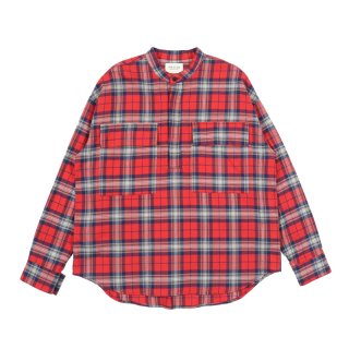 PLAID PULLOVER HENLEY