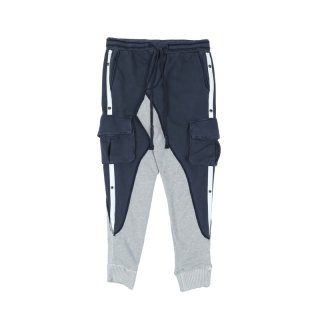 TERRY PANT WITH WHITE STRIPE