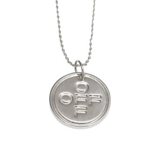 SMALL OFF CROSS NECKLACE