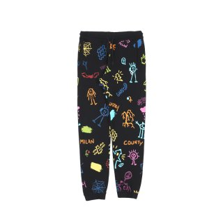 ALL OVER SKETCHES SWEATPANTS