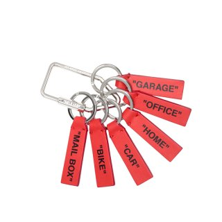 RED LABEL KEYRING