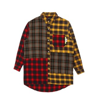 ARIAL CANOPY CHECKED PANEL SHIRT