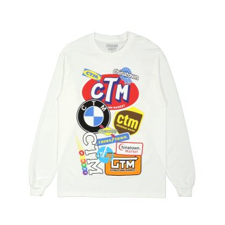 LOGO COLLAGE LONG SLEEVE