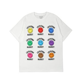 COLOR SMILEY T-SHIRT