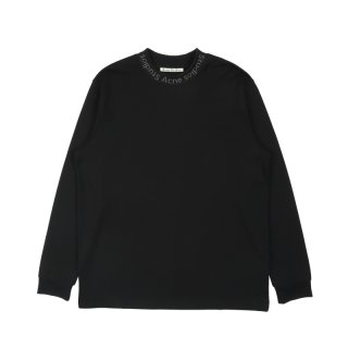 LOGO-INTARSIA LONG SLEEVED T-SHIRT<br>お問い合わせ商品