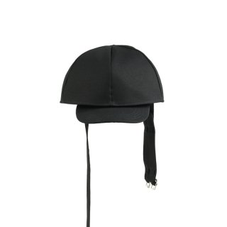 DOUBLED CAP WITH LONG STRAPS