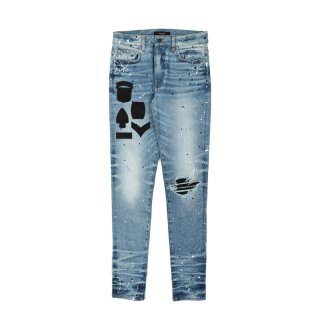 PAINTER MILITARY PATCH JEANS