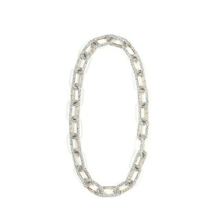SWAROVSKI PAVE CHAIN NECKLACE