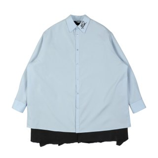 BIG FIT SHIRT WITH SHEARLING LINING