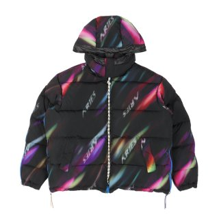 AURORA REVERSIBLE ZIP PUFFA JACKET