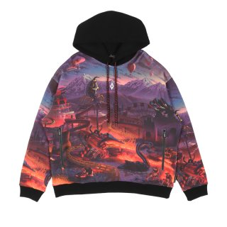 ALLOVER FANTASY OVER HOODIE