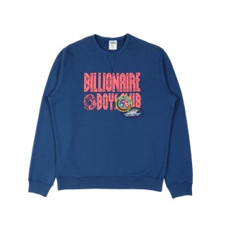 BB DECORATED LOGO CREWNECK SWEATSHIRT