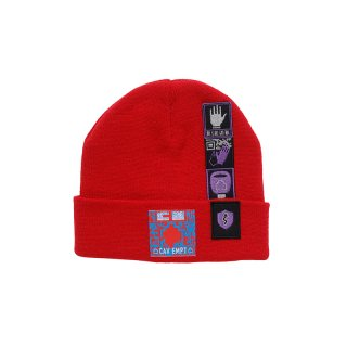 PATCHED KNIT CAP